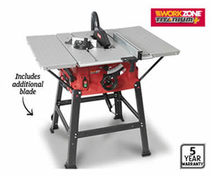 Aldi Table Saw - Workzone Titanium