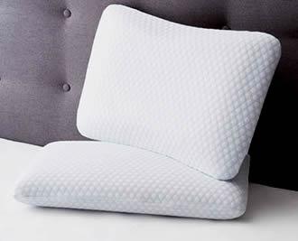 Kirton House Gel Infused Memory Foam Pillow at ALDI