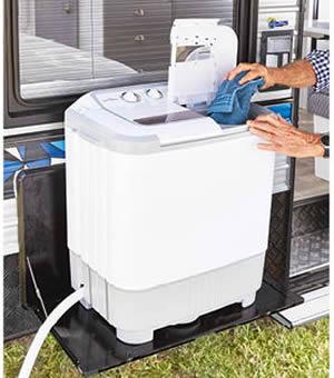 Adventuridge portable washing machine at ALDI
