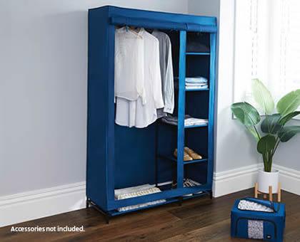 Easy Home Portable Wardrobe Storage Aldi 29 99