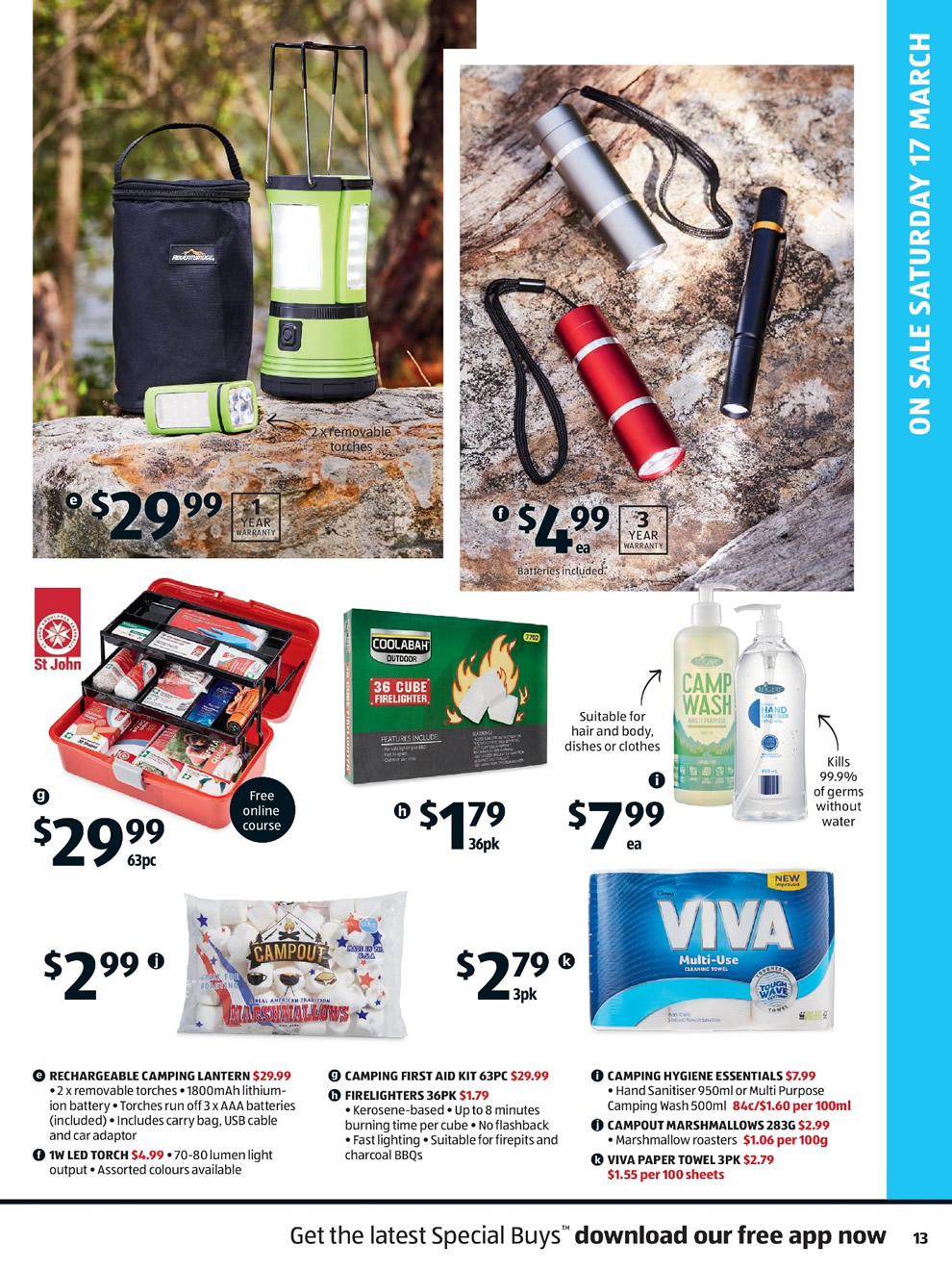 Aldi Catalogue: 14th of March to 20th of March 2018 - Page 13