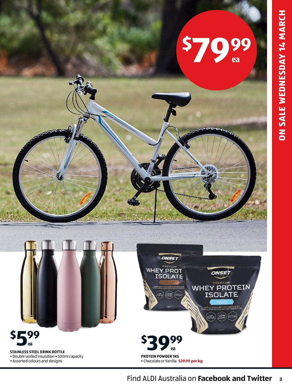 Aldi Catalogue: 14th of March to 20th of March 2018 - Page 3
