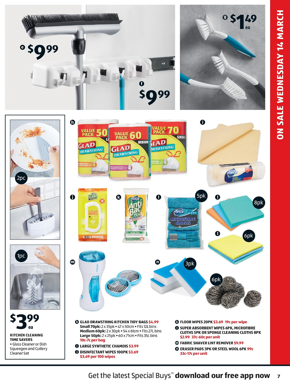 Aldi Catalogue: 14th of March to 20th of March 2018 - Page 7