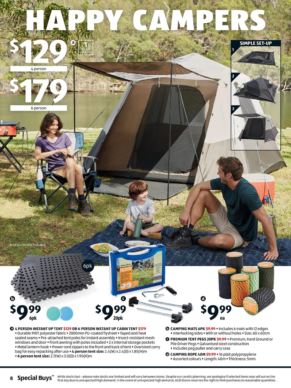 Aldi Catalogue: 14th of March to 20th of March 2018 - Page 8
