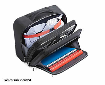 Inside the Skylite Laptop Briefcase from ALDI