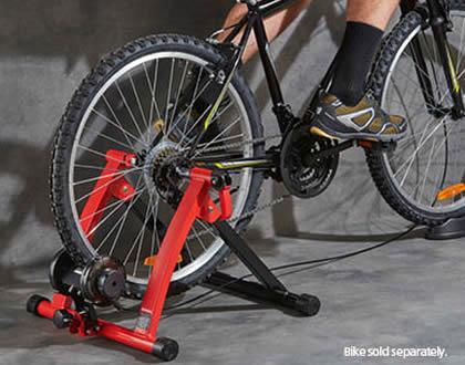 bikemate indoor bike trainer stand aldi. Black Bedroom Furniture Sets. Home Design Ideas