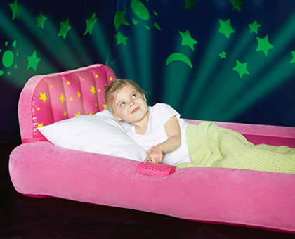 ALDI Children Airbed with Night Lights by Adventuridge