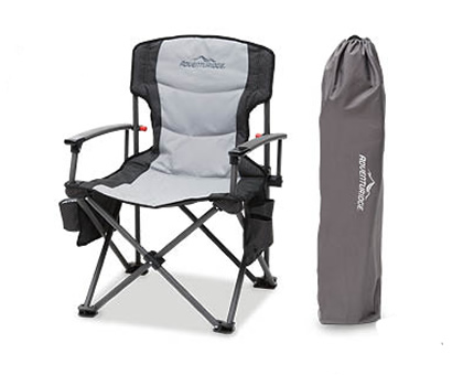 ALDI hard arm camping chair by Adventuridge