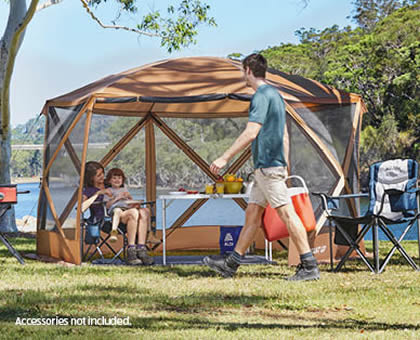 Aldi instant up gazebo screen room by Adventuridge