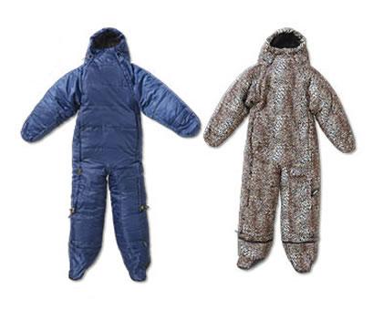 Aldi sleeping bag onesie by Adventuridge
