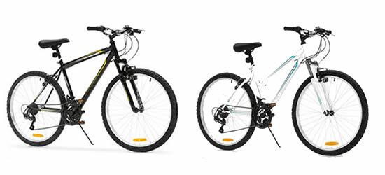 Crane 26 inch mountain bikes from ALDI