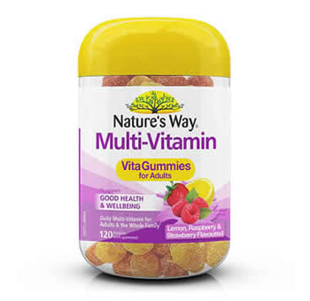 Natures Way Vitamin Gummies for Adults