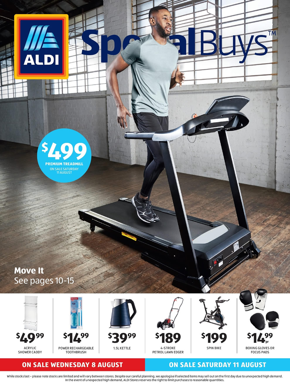 ALDI Catalogue 8th August - 14th August 2018 - Page 1