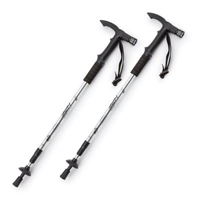HDF Adjustable Anti-Shock LED Hiking Stick