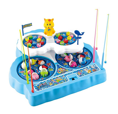 Kids Go Go Fishing Games Playset at Crazy Sales