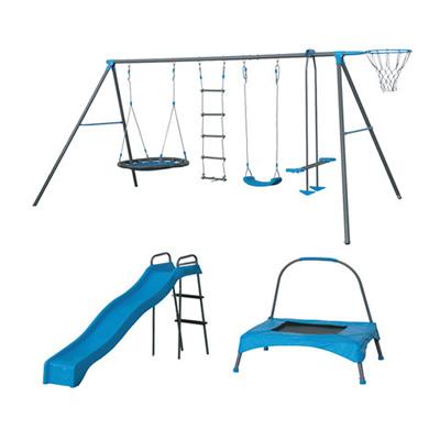 Kids Playground 7 Station Swing Set