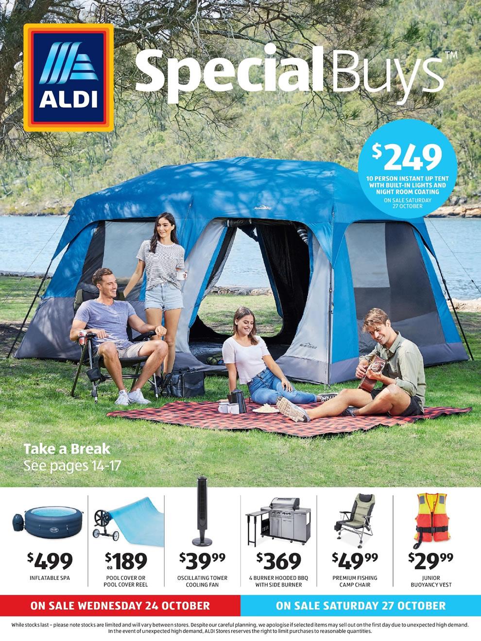 ALDI Catalogue 24 October - 30 October 2018