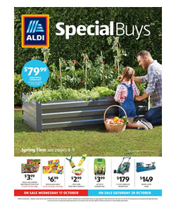 ALDI Special Buys Catalogue: 17 Oct 2018 - 23 Oct 2018