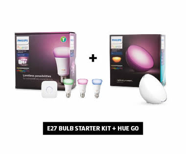 Philips Hue Lights Starter Kit Bundle
