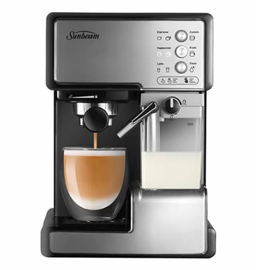Sunbeam EM5000 Cafe Barista Coffee Machine