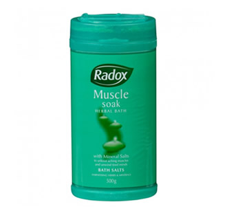 Radox Muscle Soak Herbal Bath Salts 500g