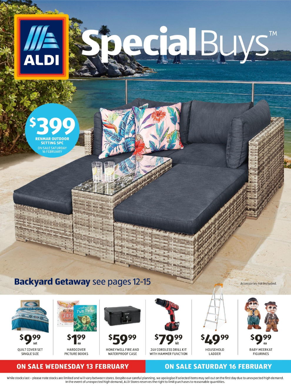 aldi catalogue 13 feb 2019 19 feb 2019. Black Bedroom Furniture Sets. Home Design Ideas