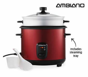 Ambiano 10 Cup Rice Cooker at ALDI