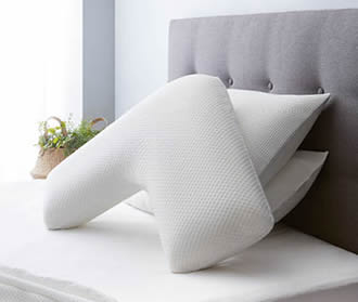 V shape memory foam pillow at ALDI