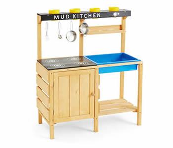 Aldi Kid's potting and mud kitchen table