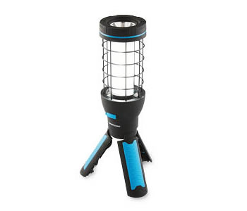 Workzone rechargeable worklight with tripod