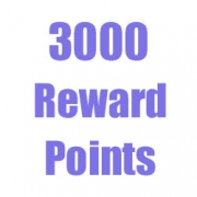 Get 3000 Reward Points when You Spent Over $150