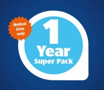 ALDI Mobile $99 Unlimited Calls & SMS 1 Year Prepaid Plan 12GB Data