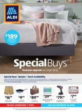 Aldi Catalogue Special Buys – From 07/04/2021