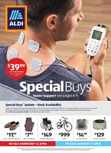 Aldi Catalogue Special Buys – From 14/04/2021