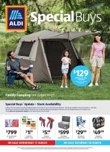 Aldi Catalogue Special Buys – From 17/03/2021