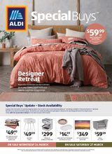 Aldi Catalogue Special Buys – From 24/03/2021
