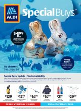 Aldi Catalogue Special Buys – From 31/03/2021