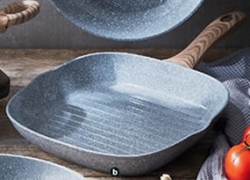 26cm Ceramic Non-Stick Grill / Griddle Pan $16.99 @ ALDI