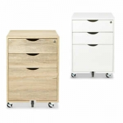 Scandi 3 Drawer Filing Cabinet @ ALDI – $49.99!