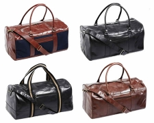 Royal Class Leather Overnight Bag $89.99 @ ALDI