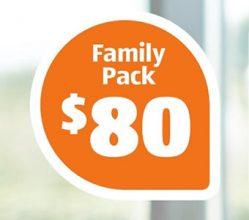 Aldi 80GB (inc Bonus) Mobile Data Family Pack $80