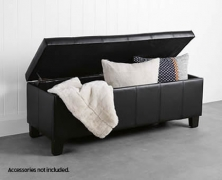 SOHL Rectangular Storage Ottoman $79.99