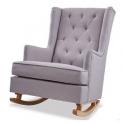Beautiful Nursery Fabric Rocking Chair @ ALDI – $199