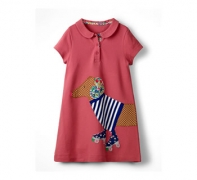 Big Applique Polo Dress $26