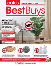 Coles Best Buys Catalogue – From 09-04-2021