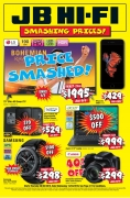 JB Hi Fi Smashing Prices