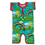 JNY Organic Rainbow Summer Body Suit $29