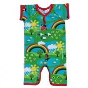 JNY Organic Rainbow Summer Body Suit $29