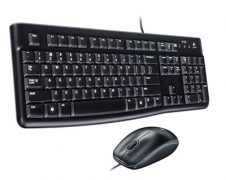 Logitech MK120 USB Wired Keyboard & Mouse $16