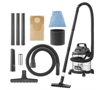 Ozito 1250W 12L Stainless Wet & Dry Vacuum Cleaner $29.89